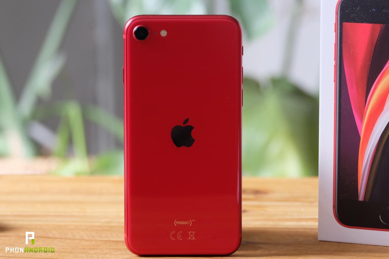 test iphone se 2020 autonomie