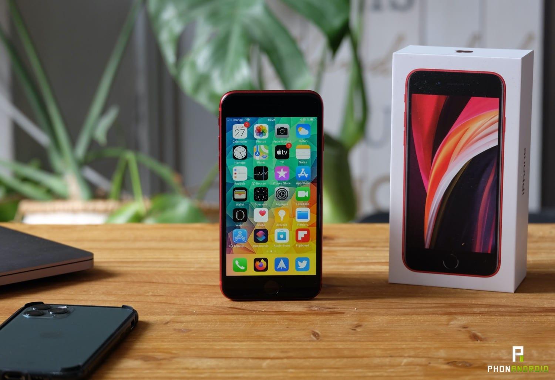 test iphone se 2020 design face