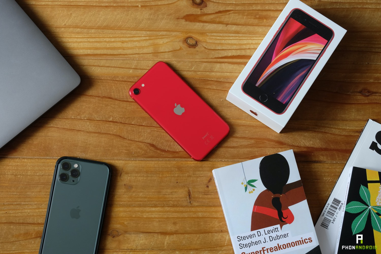 test iphone se 2020 prix