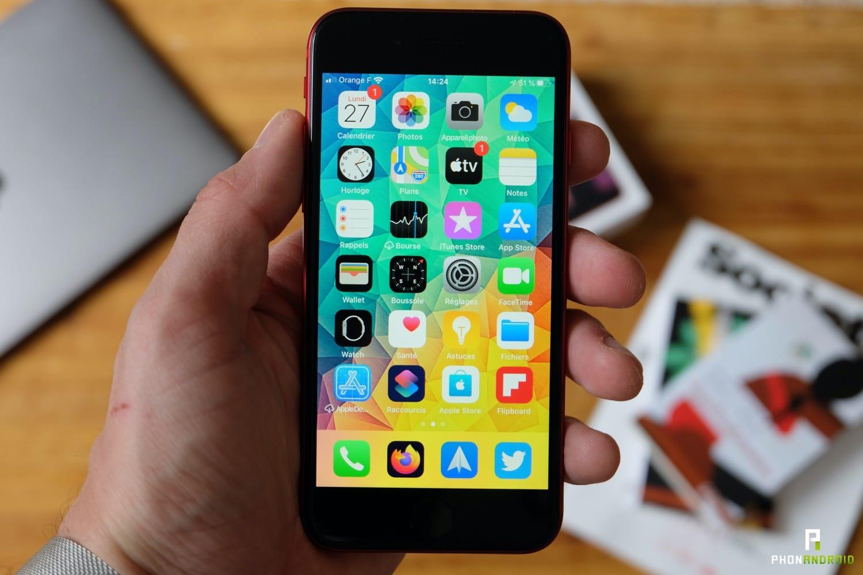 test iphone se 2020 prise en main