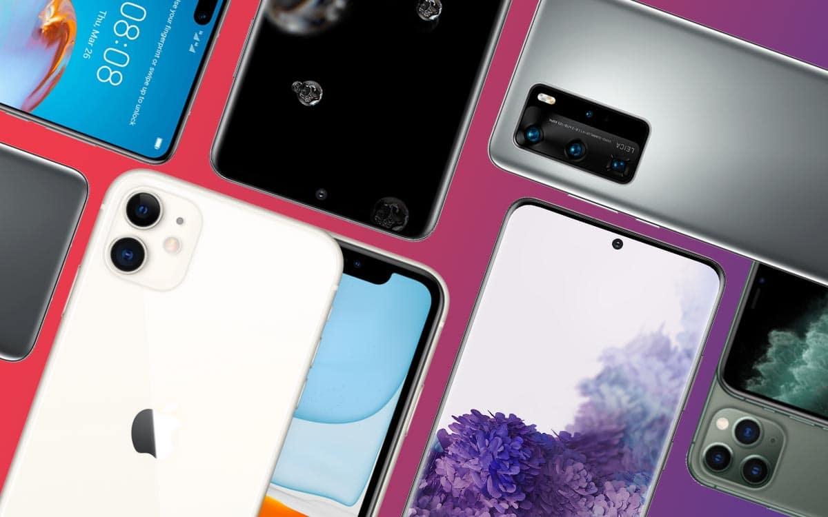 ventes smartphones baisse coronavirus