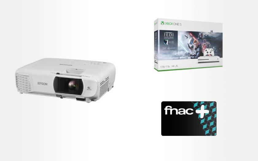 ensemble vidéoprojecteur pack xbox one S 1 To et carte Fnac
