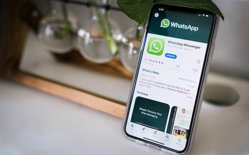 WhatsApp Publicité