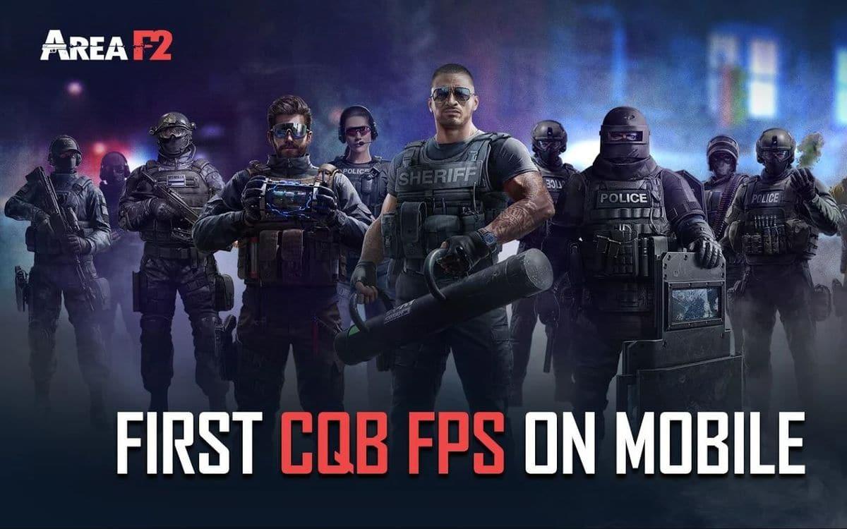 Le jeu Area F2