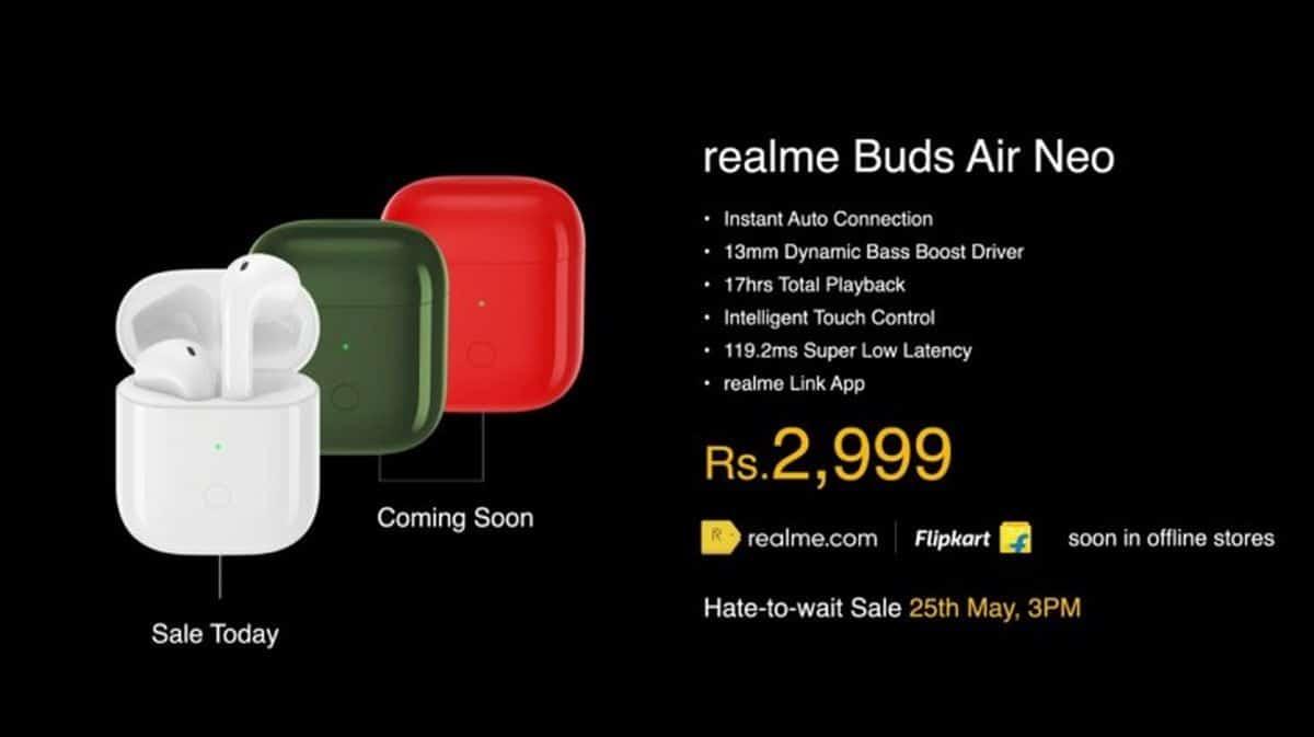 Les Realme Buds Air