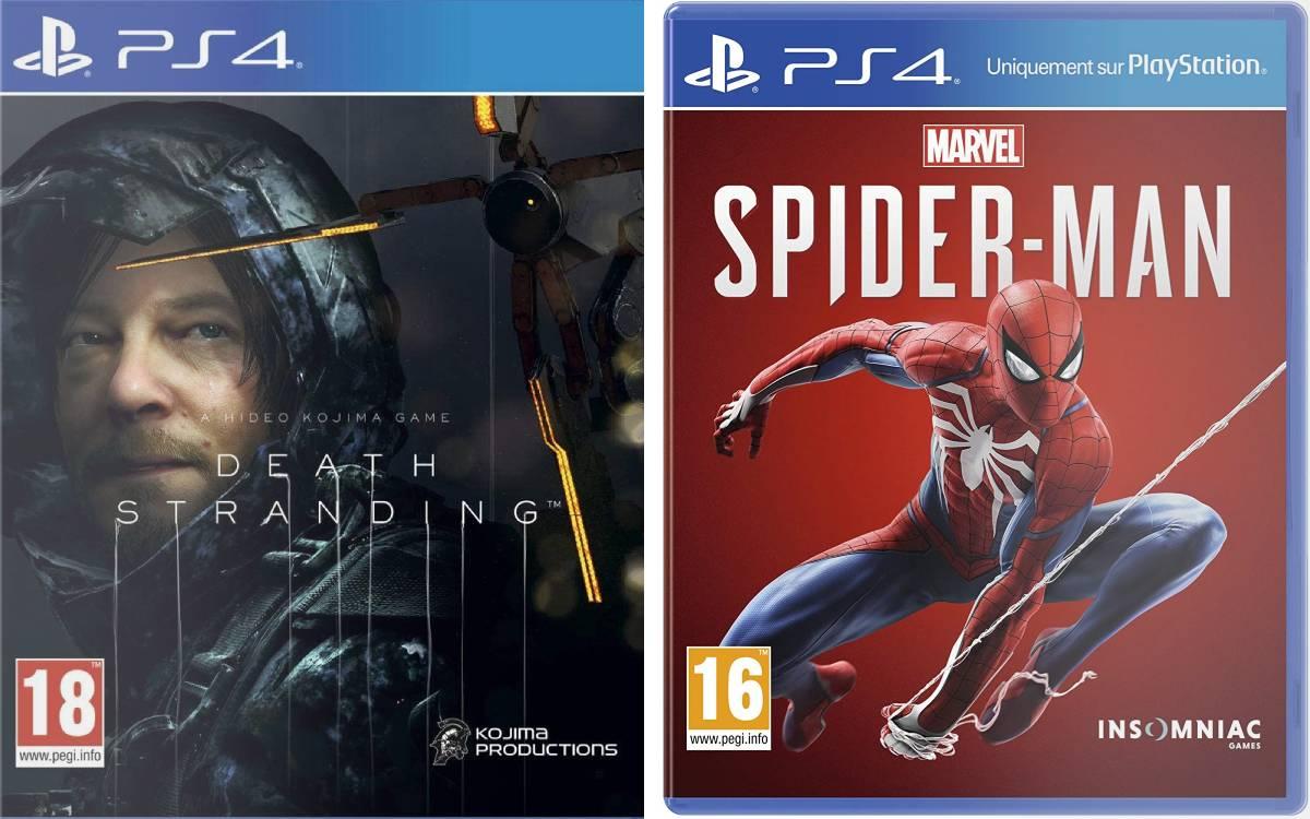 Death Stranding et Marvel's Spider-Man à prix cassés