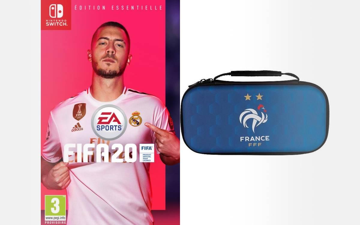 FIFA 20 sur Switch avec housse offerte
