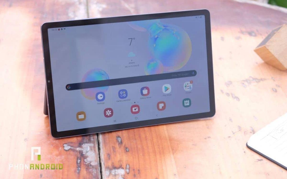 La Galaxy tab S6