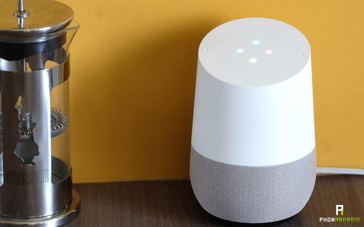 Le Google Home classique