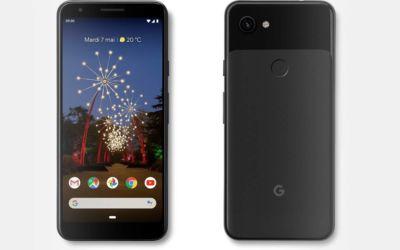 Google Pixel 3a pas cher pour les French Days