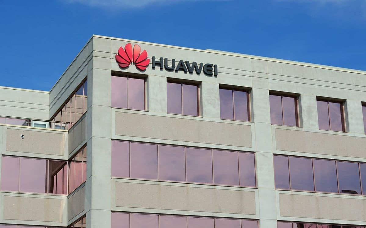 Les locaux de Huawei