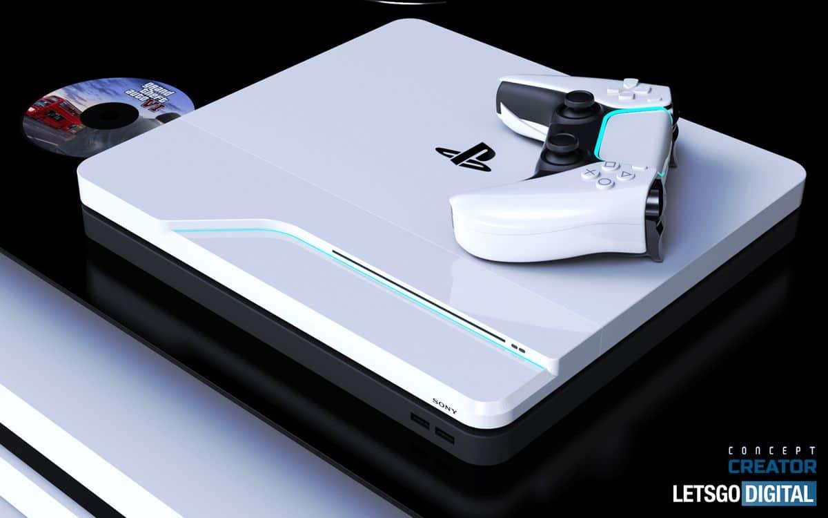 Un concept de PS5