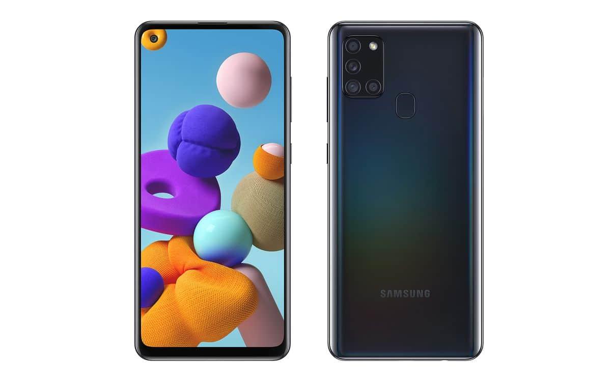 Le Galaxy A21s de Samsung