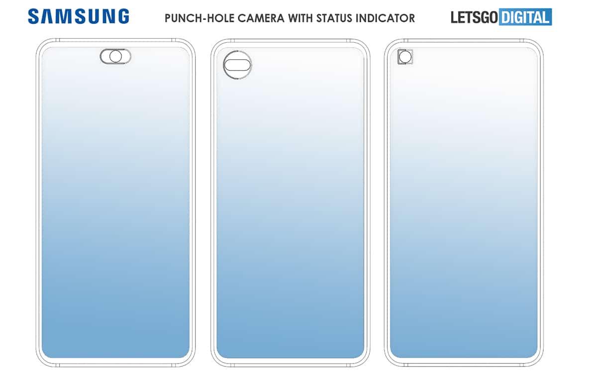 Samsung Galaxy Note 20 Indicateur Capteur Photo