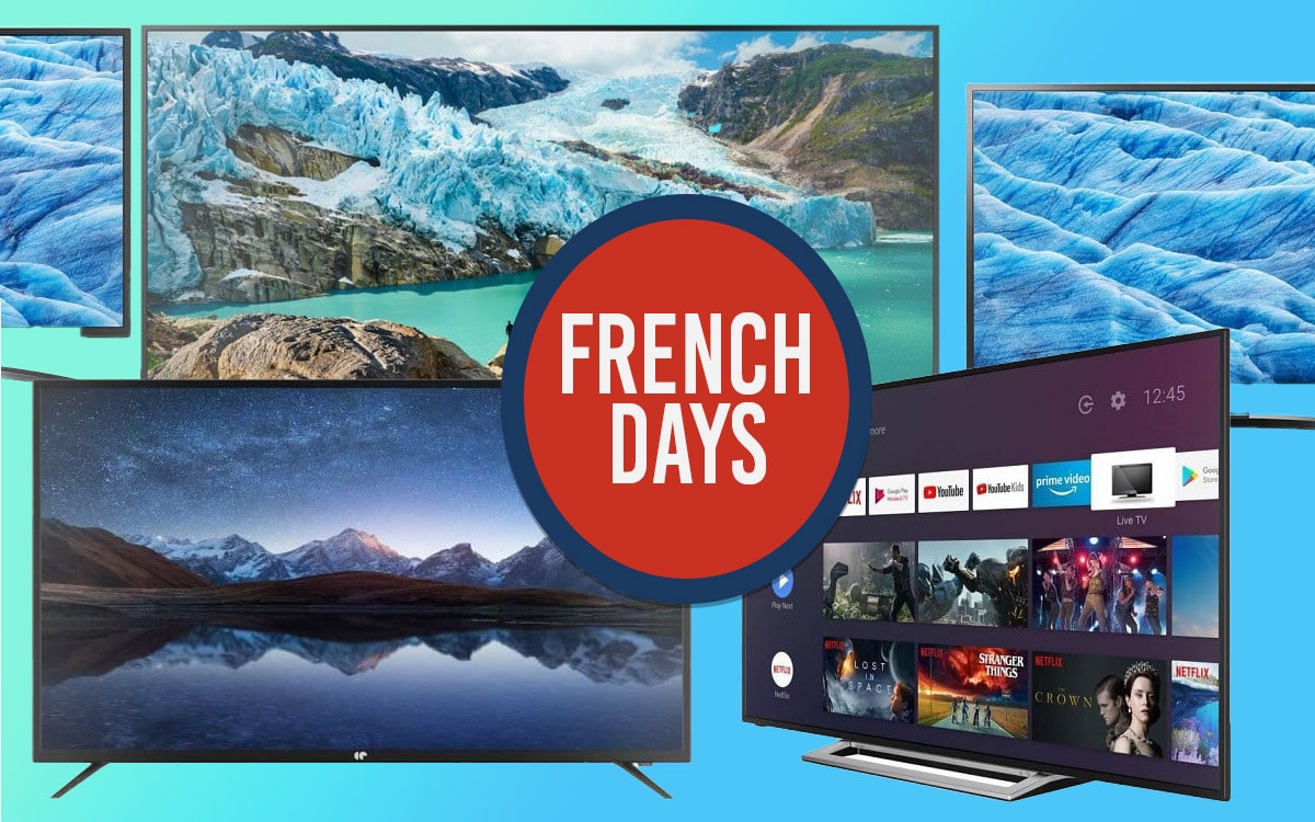 French Days 2020 TV 4K meilleures offres