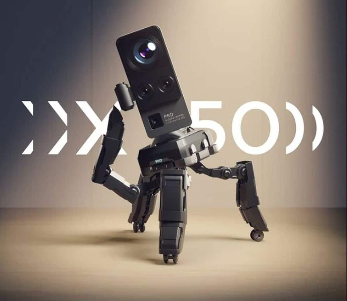 Affiche teaser du Vivo X50
