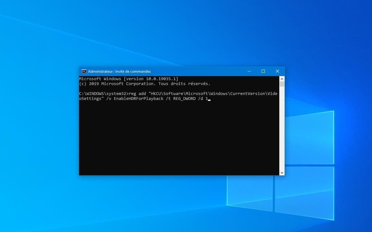Windows 10 Invite de Commandes