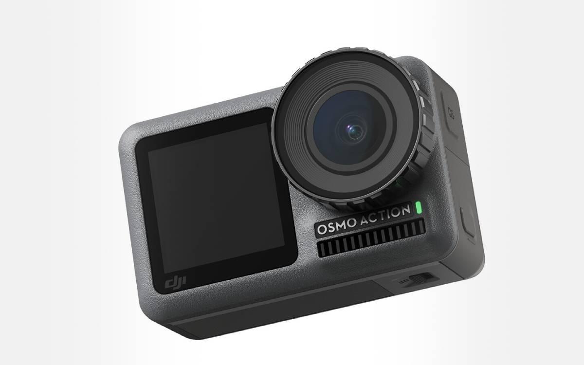 caméra DJI Osmo Action en promotion