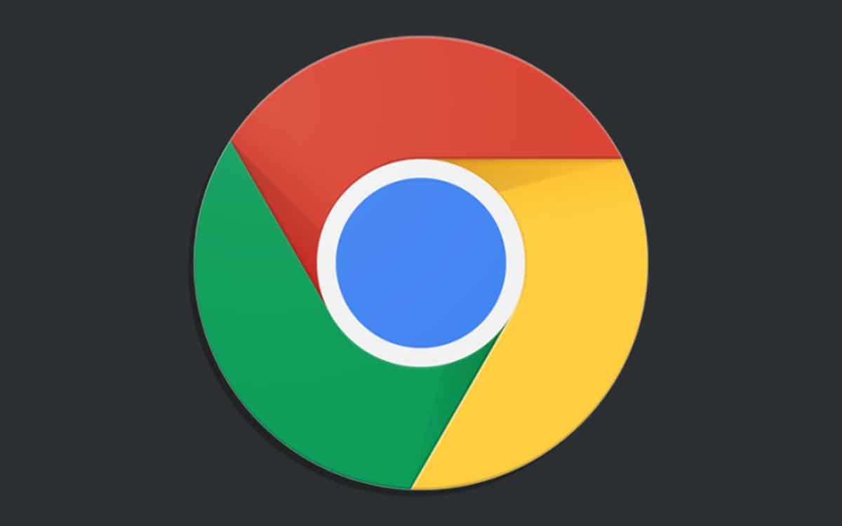 chrome mode sombre android résultats google