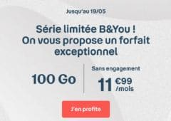 forfait mobile 100 Go b and you