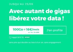 forfait red by sfr 100 Go