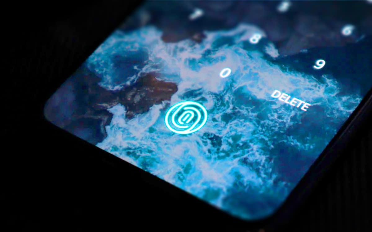 Capteur d'empreintes sous l'écran OnePlus 6T