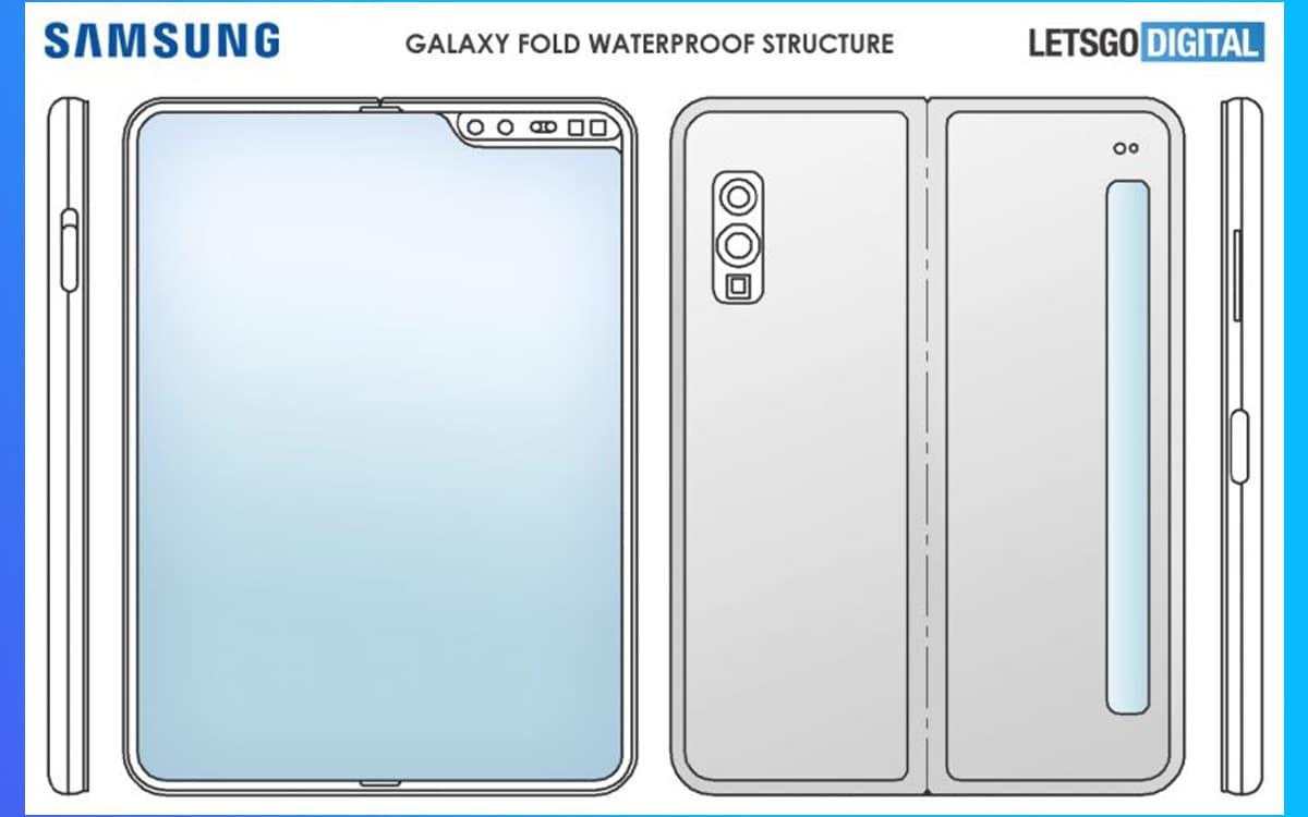 galaxy fold 2 étanche