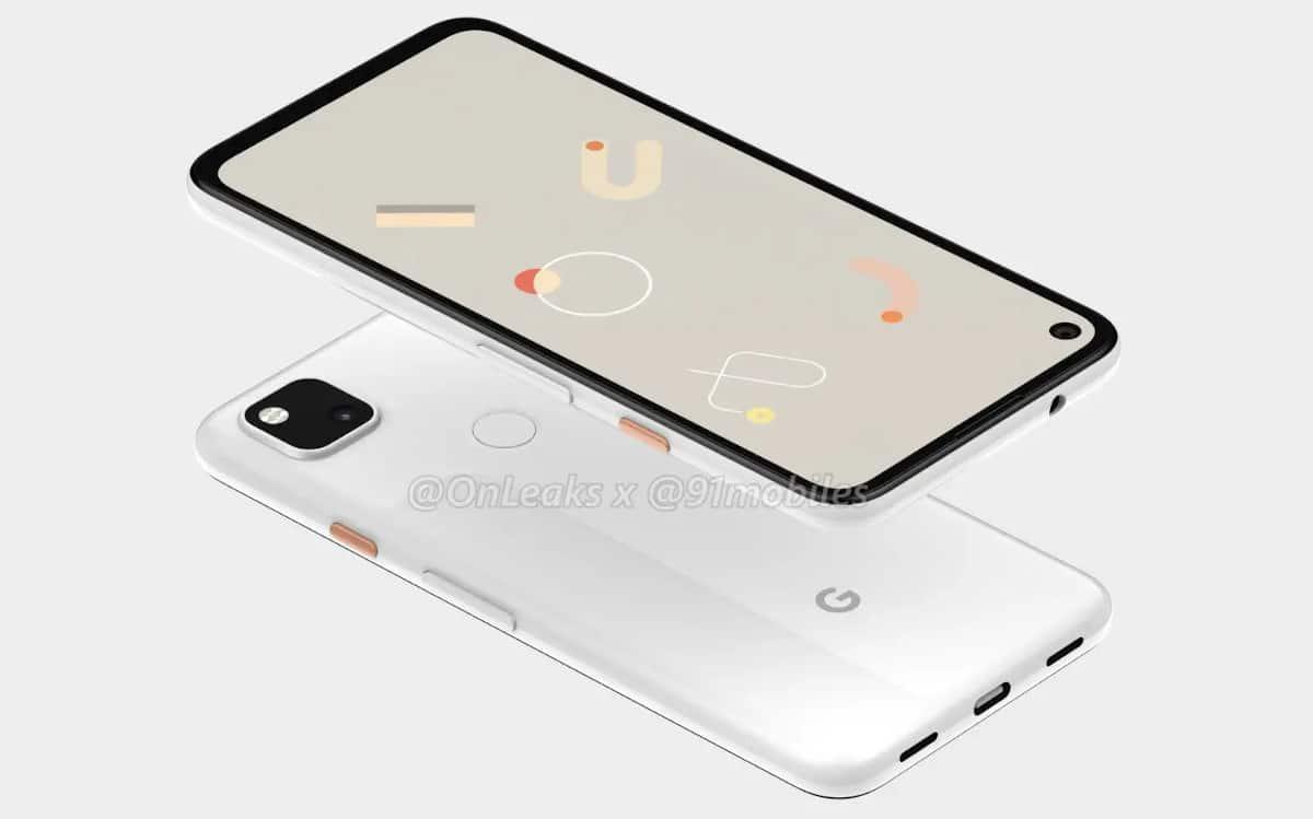 google pixel 4a sortie 3 aout 2020