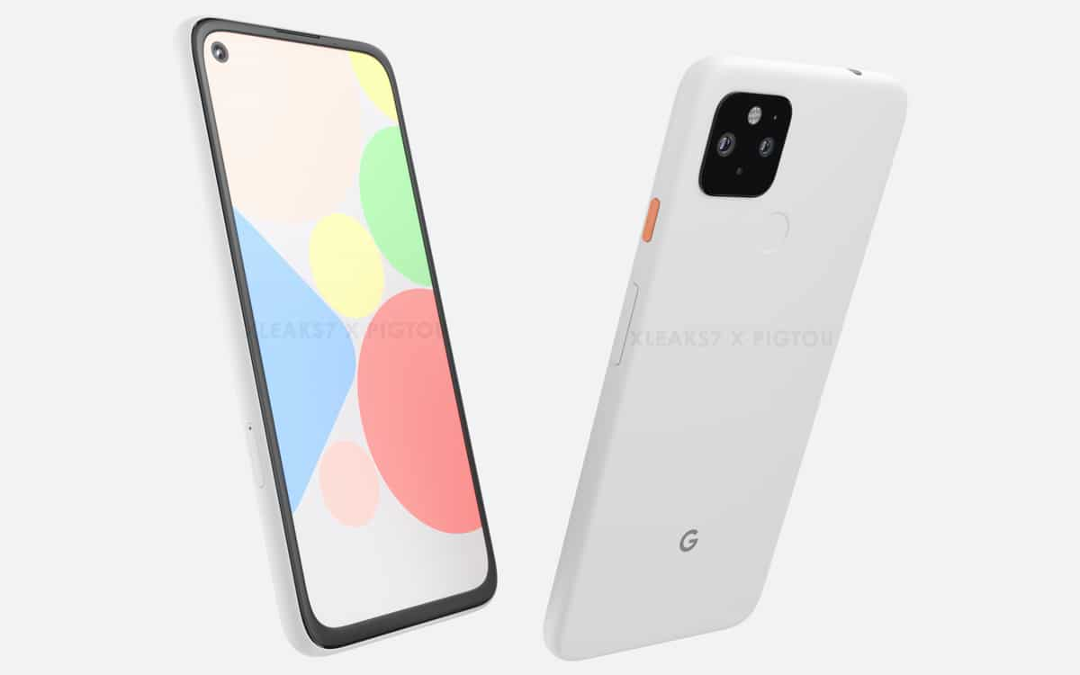 google pixel 4a xl design