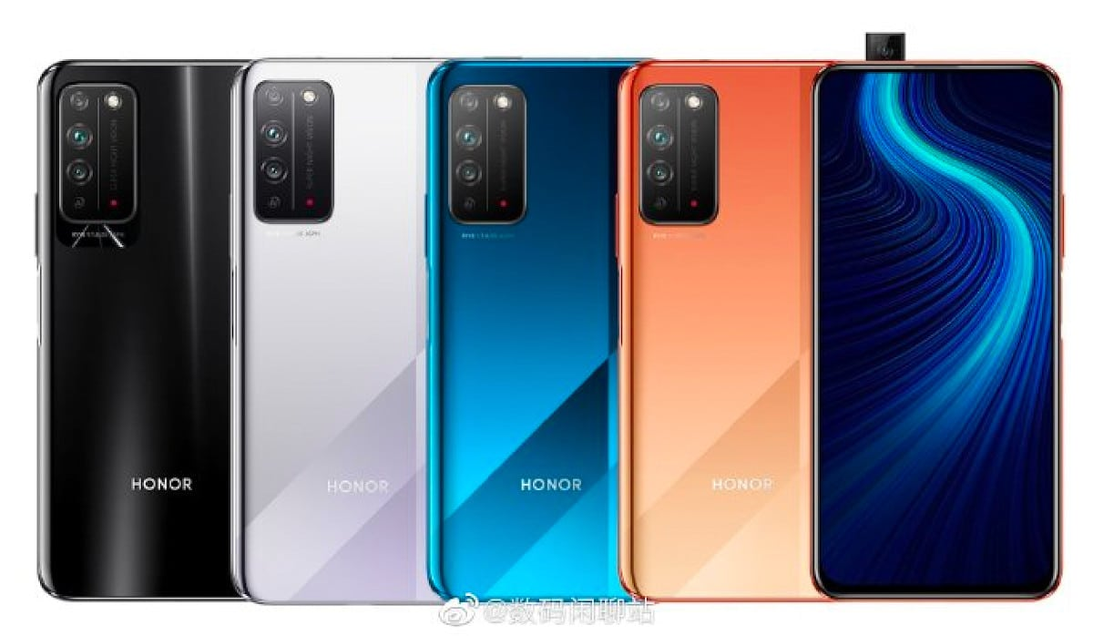 honor 10x color leak