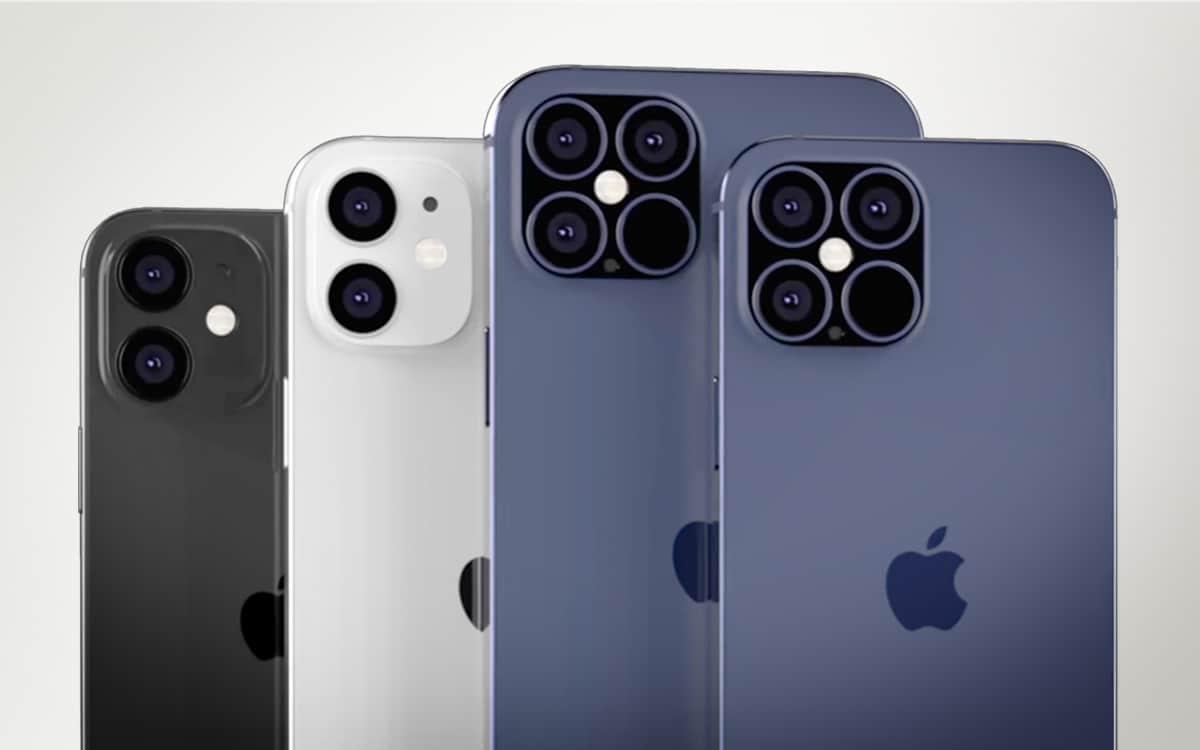 iPhone 12 gamme rendus