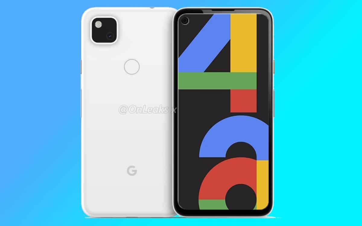 pixel 4a fonds écran