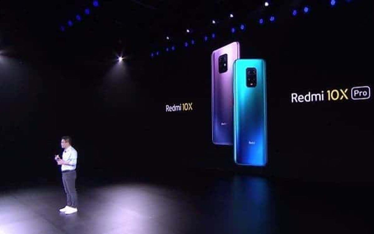 Xiaomi lance les Redmi 10X et 10X Pro