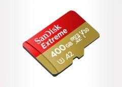 sandisk extreme 400 go