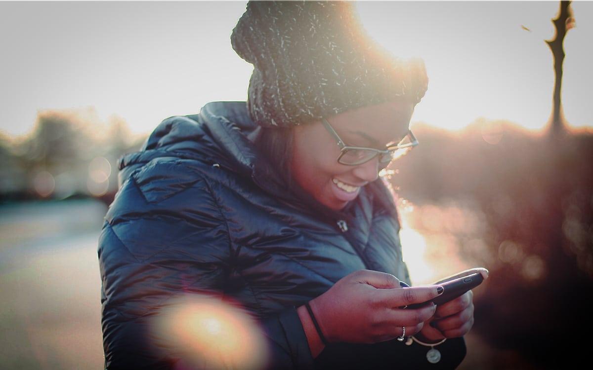 smartphone sms