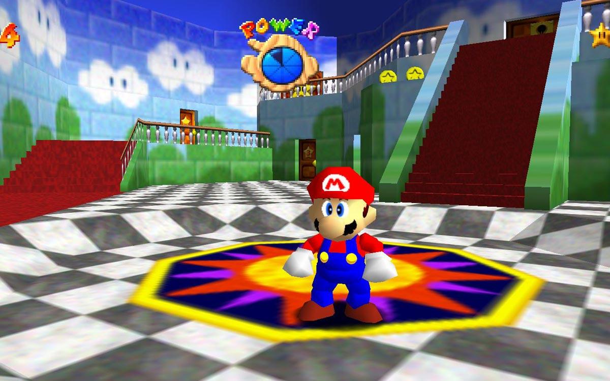 Super Mario 64 sur PC
