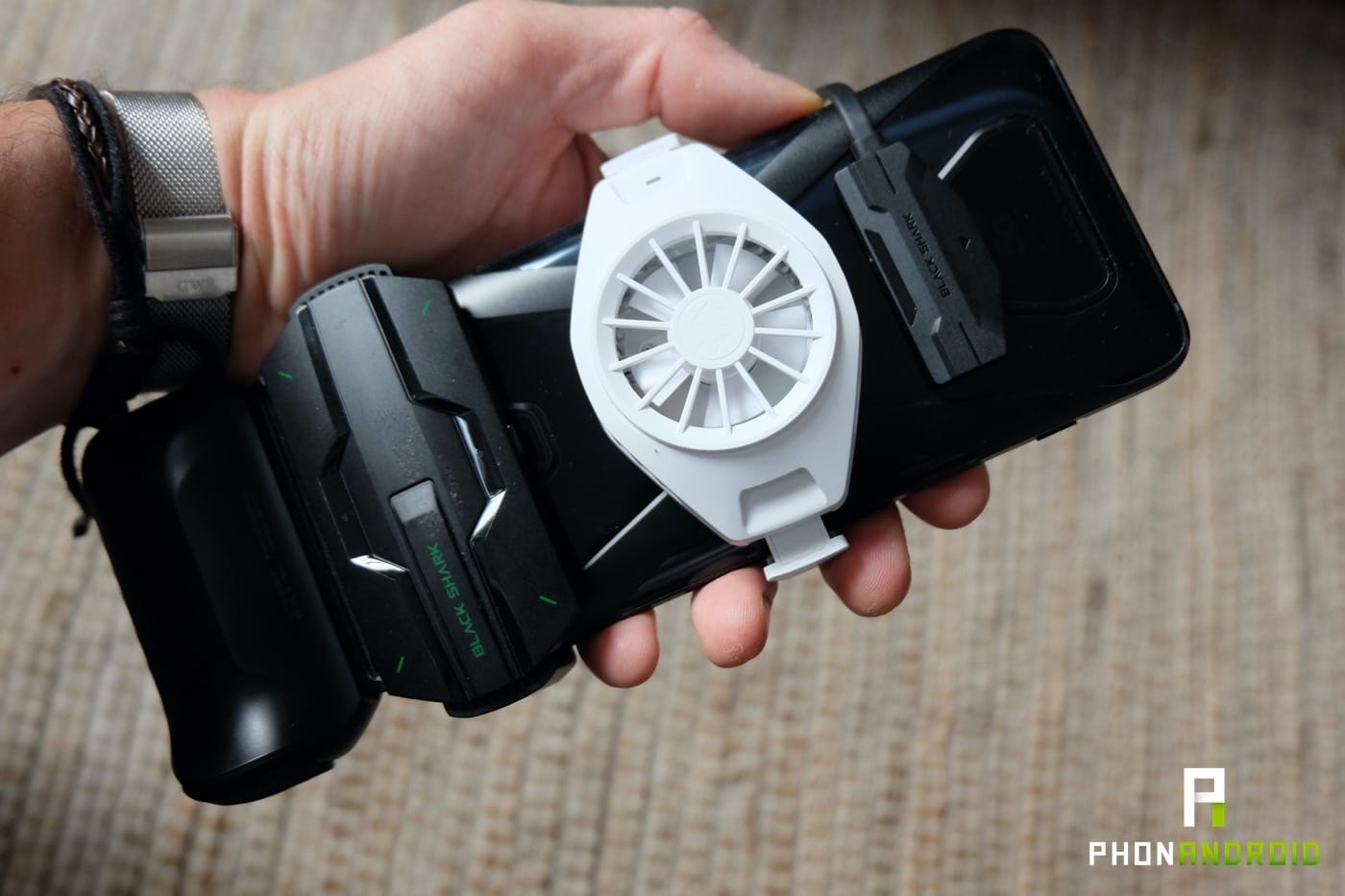 test black shark 3 assemblage accessoires