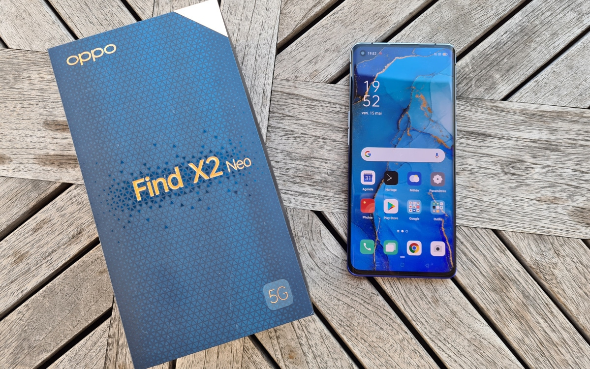 test oppo find x2 neo prise en main 6