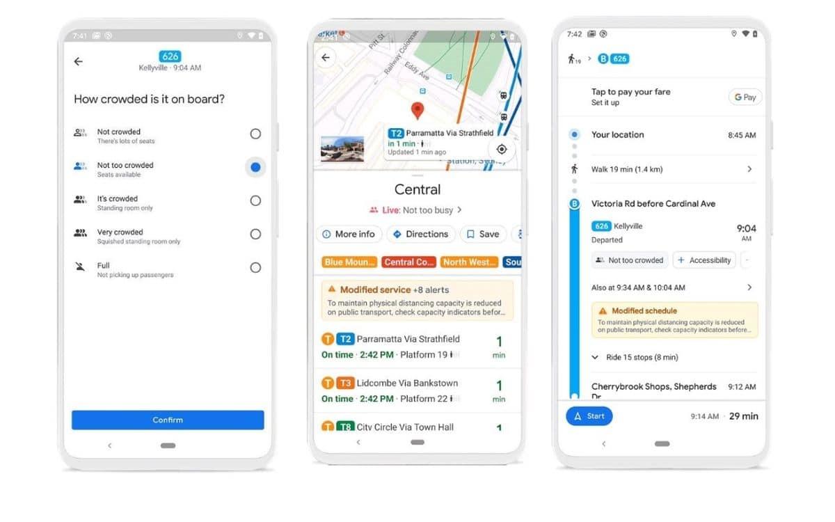 L'application Google Maps