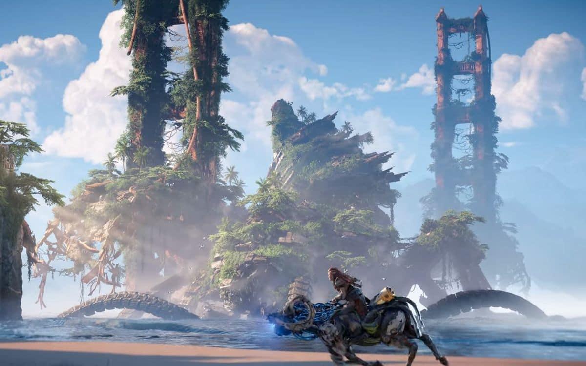 Horizon 2 Forbidden West sur PS5