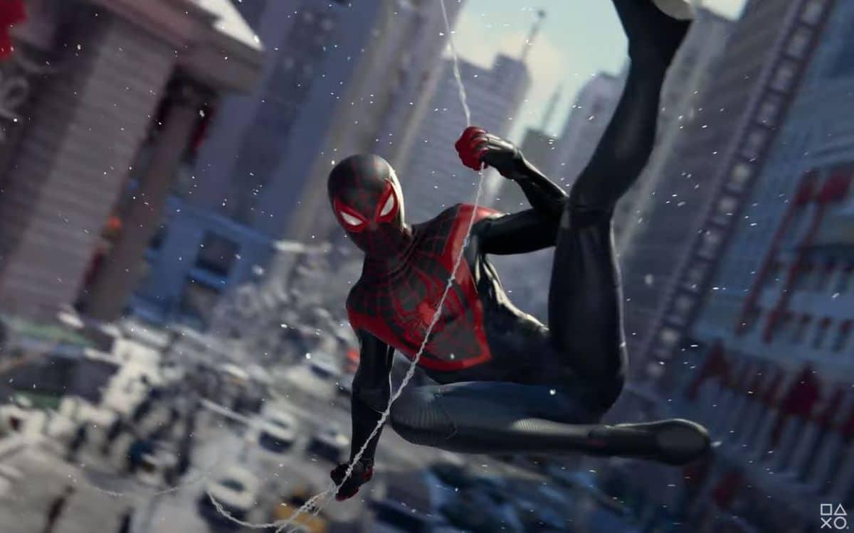 Spider-Man Miles Morales sur PS5