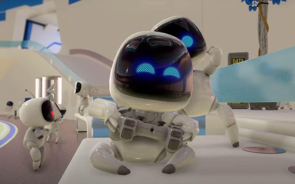 Astro's Playroom sur PS5