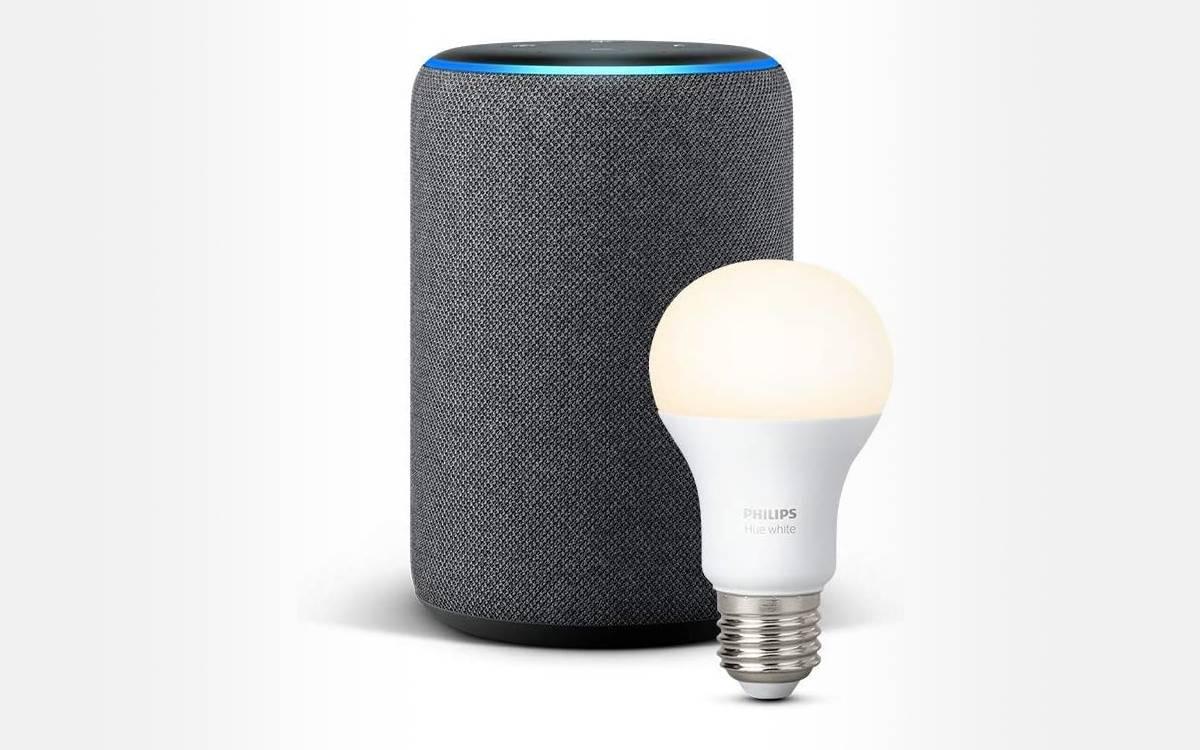 pack Echo Plus ampoule Philips Hue