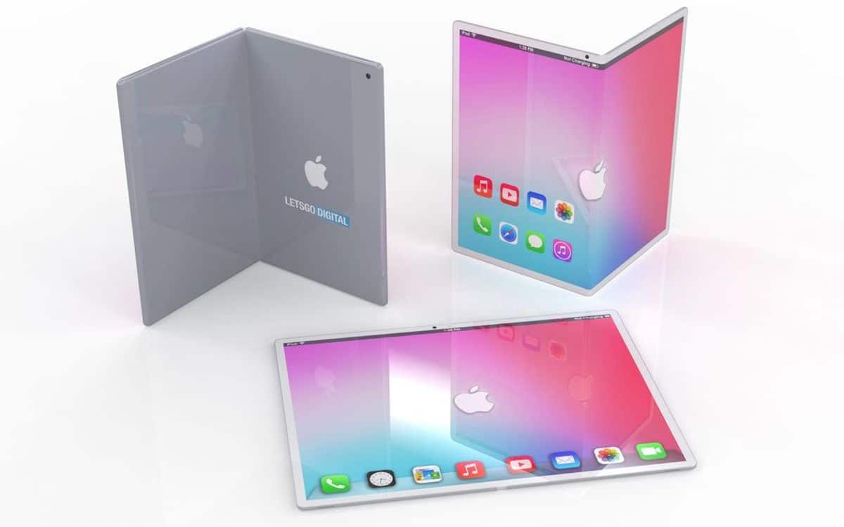 Un concept d'iPhone pliable