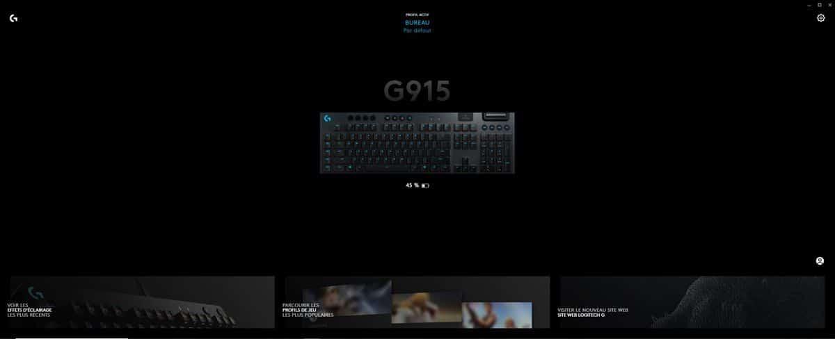 Le Logitech G915