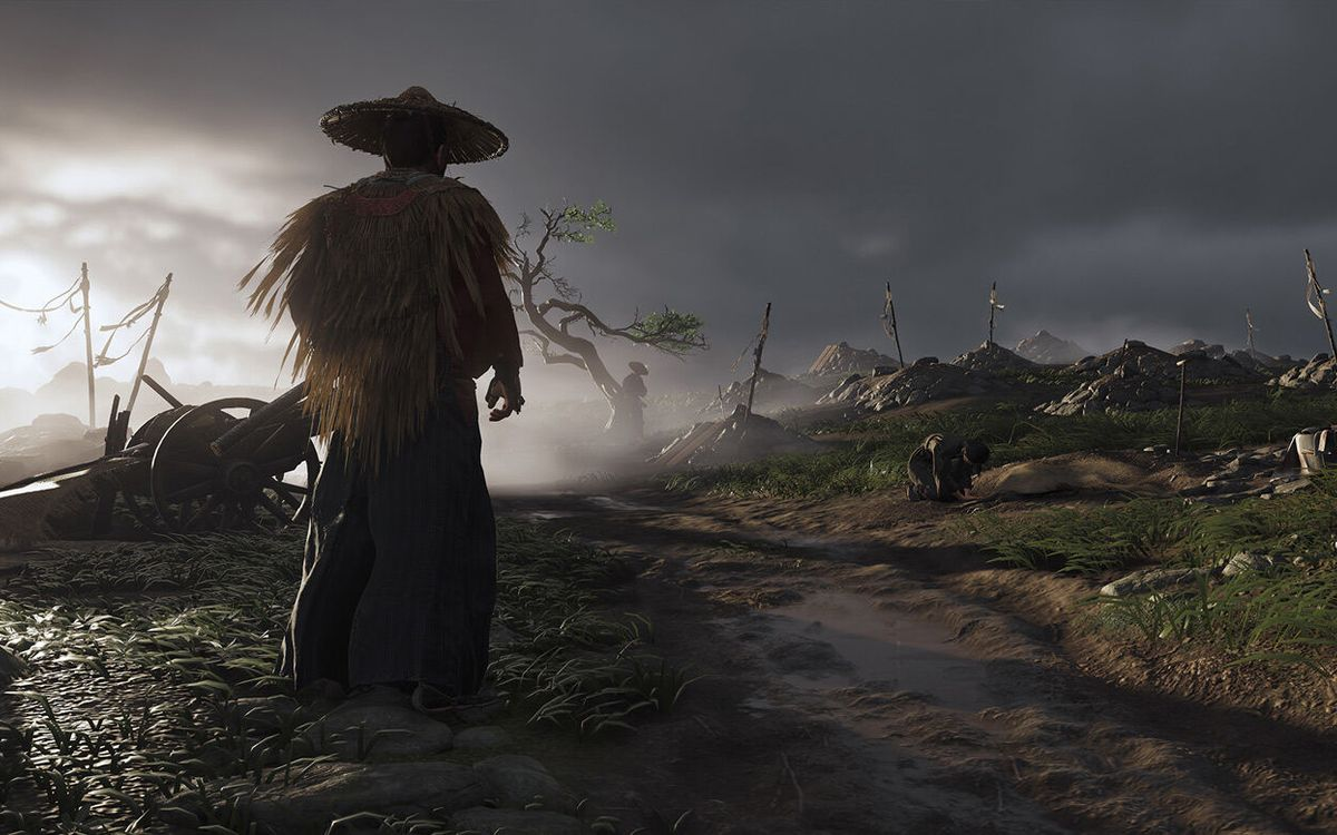 Le jeu Ghost of Tsushima