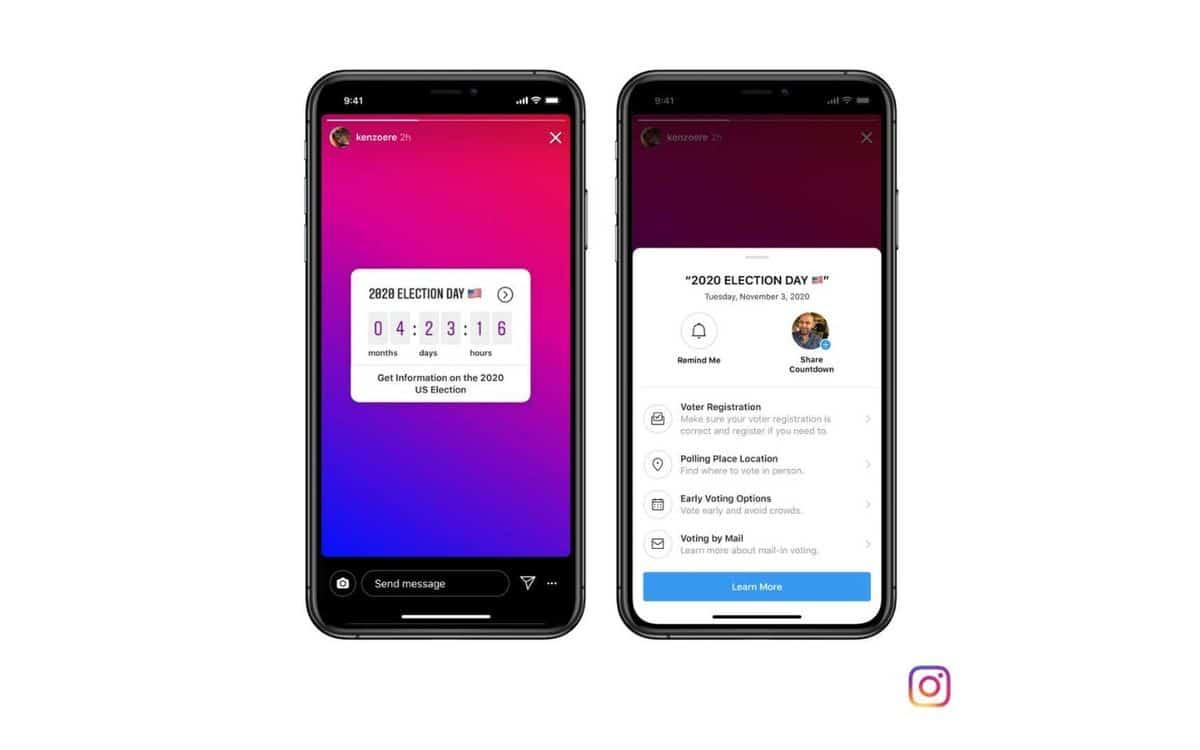 L'application Instagram