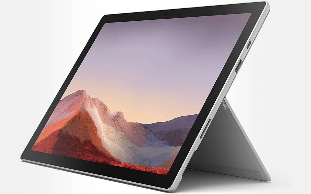 bon prix Microsoft Surface Pro 7