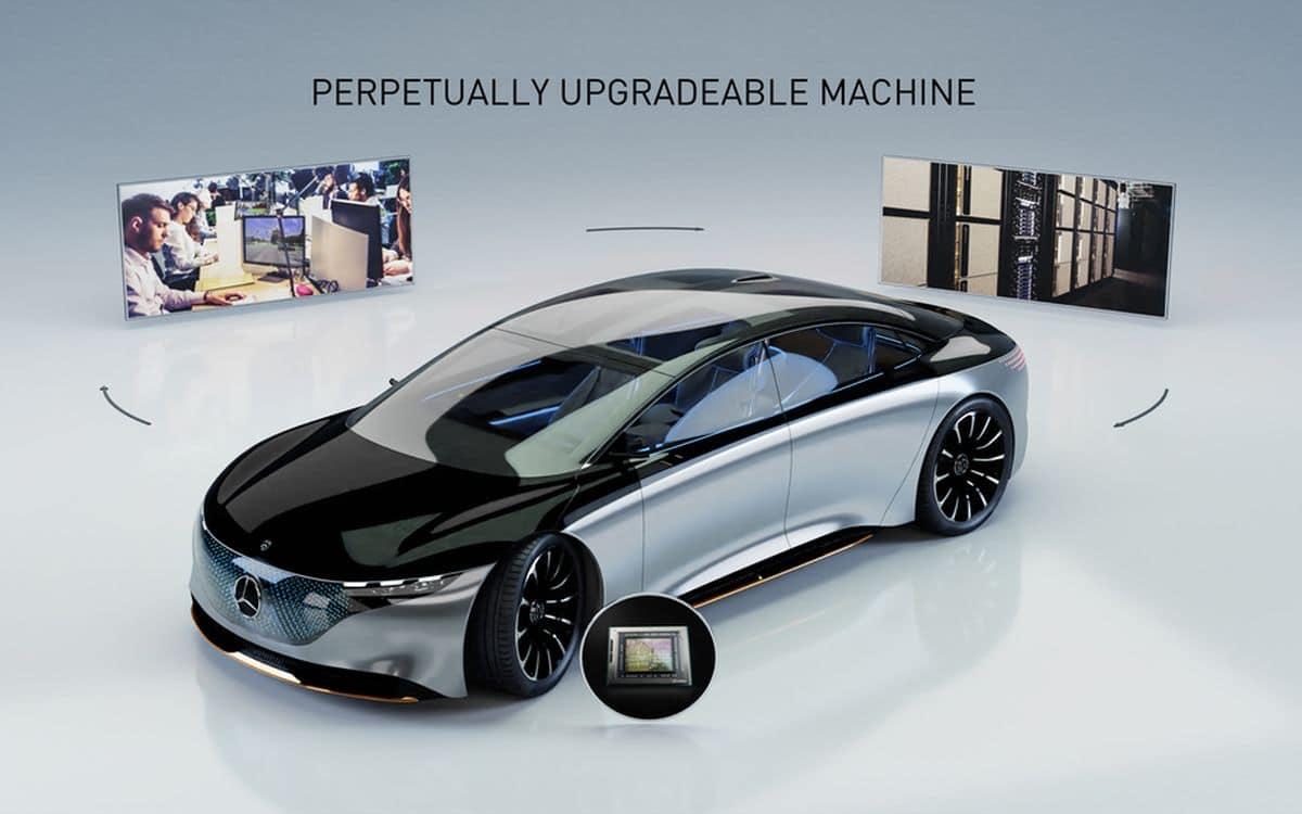Le système de Nvidia sur Mercedes