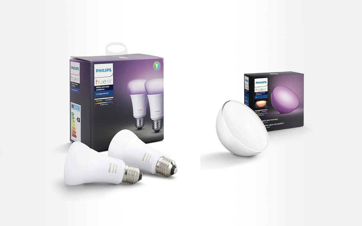 Pack-de-2-ampoules-connectees-Philips-Hue-White-and-color-ambiance-Duobox-E27-Lampe-nomade-connectee-Hue-Go-Led